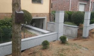 Ogrodzenia z litego kamienia